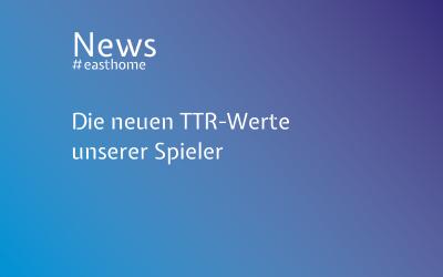Die neuen TTR-Werte unserer Spieler