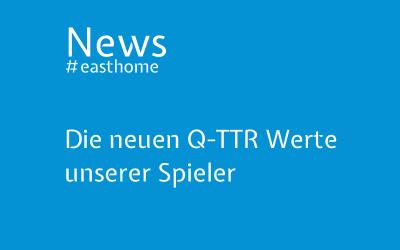 Die neuen Q-TTR Werte unserer Spieler