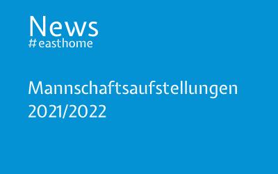 Mannschaftsaufstellungen 2021/2022