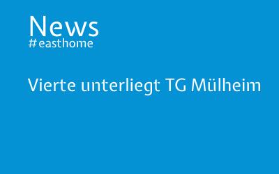 Vierte unterliegt TG Mülheim